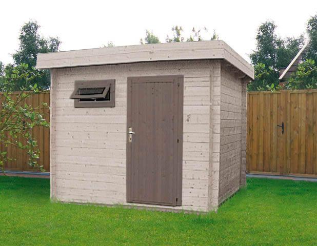 abri bois facade de 3 m abri jardin en bois Pinterest - construire une cabane de jardin en bois