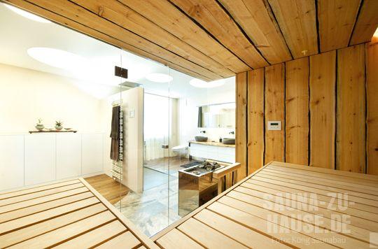 Sauna Und Bad ? Ziemlich Beste Freunde | Sauna-zu-hause | Bad ... Sauna Designs Zu Hause