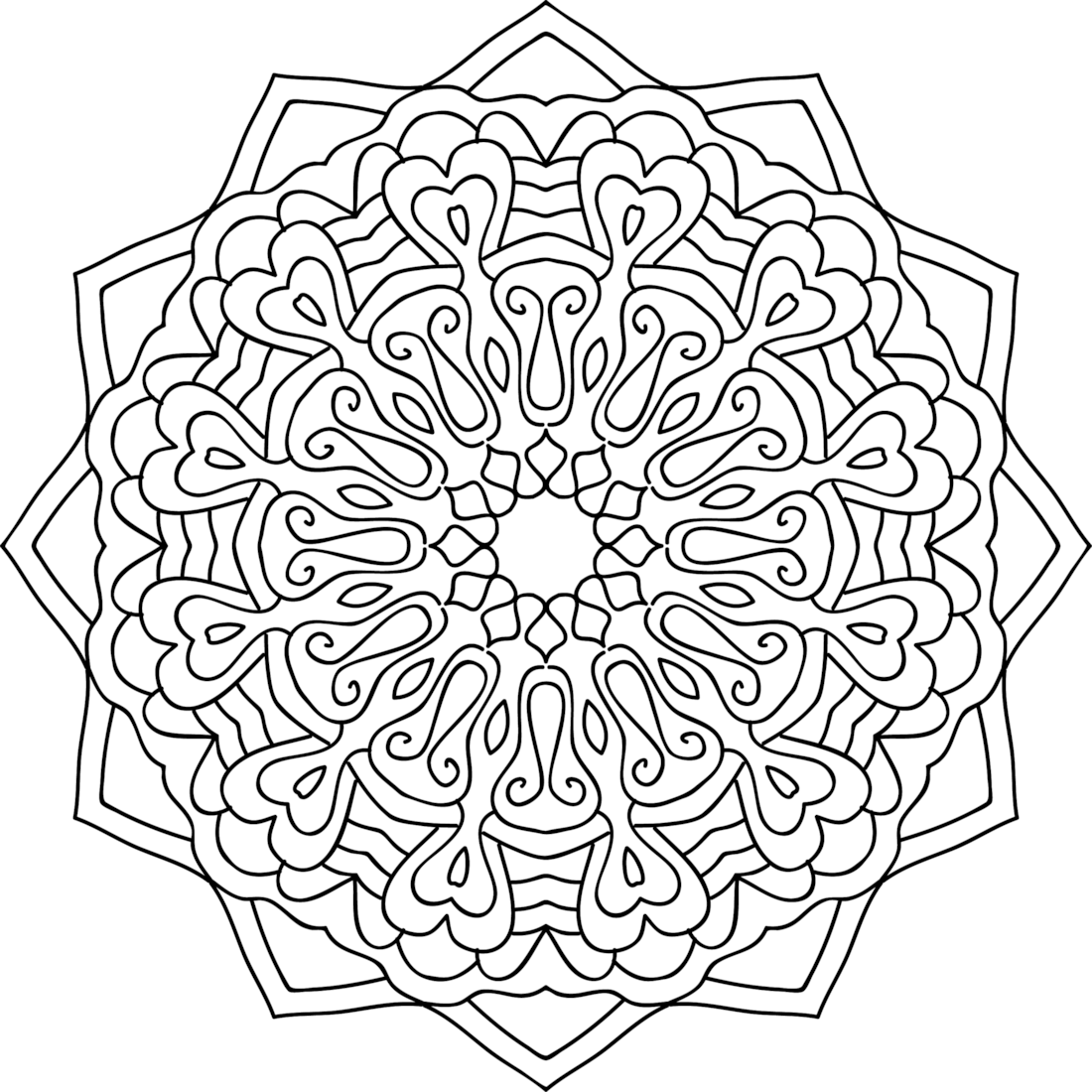 Picture of Spinning Yarn coloring page