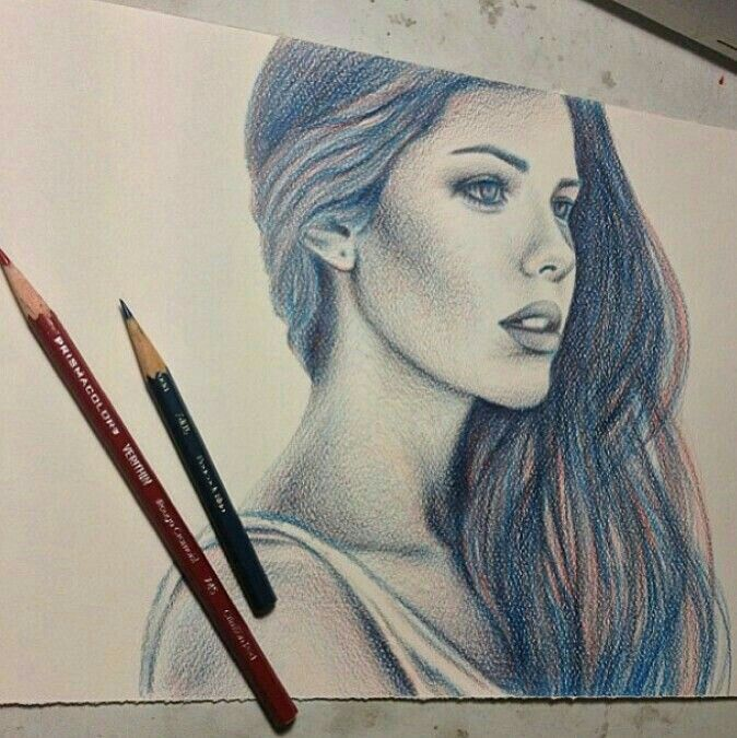 Pencil drawings of girls drawings of people colored pencil drawings coloured pencils woman drawing drawing art drawing ideas beautiful drawings