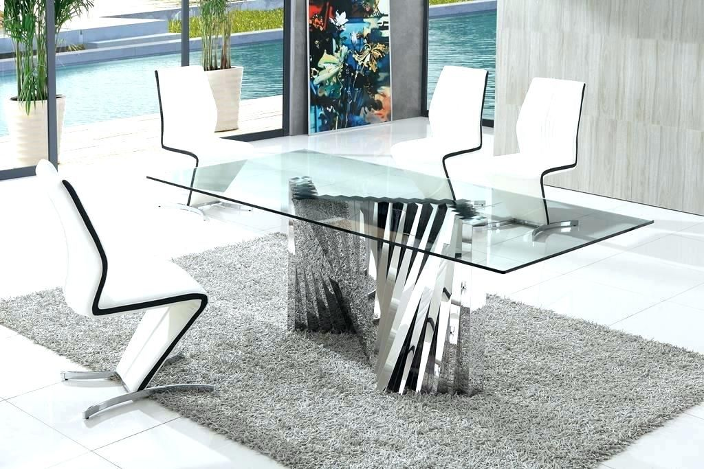 Glass Dining Table And Chairs All Glass Dining Glass Dining Table Glass Dining Table Set Glass Dining Table Designs