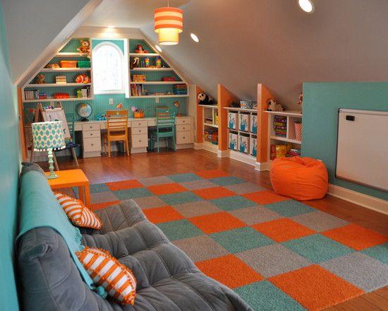 espacios dormitorio chicas infantiles psicologa interiores fiestas sala de juegos tico