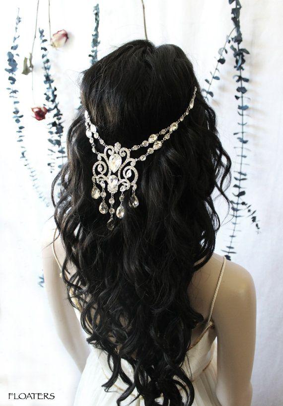Pearl Hair Pin Silver