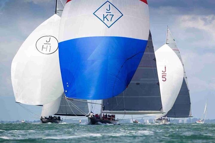Round the Island race - Cowes 2015