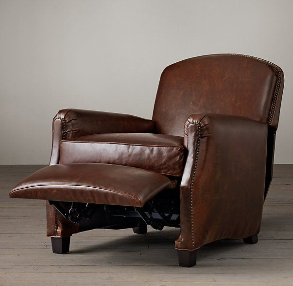 Keaton Leather Club Recliner Lighthouse Recliner