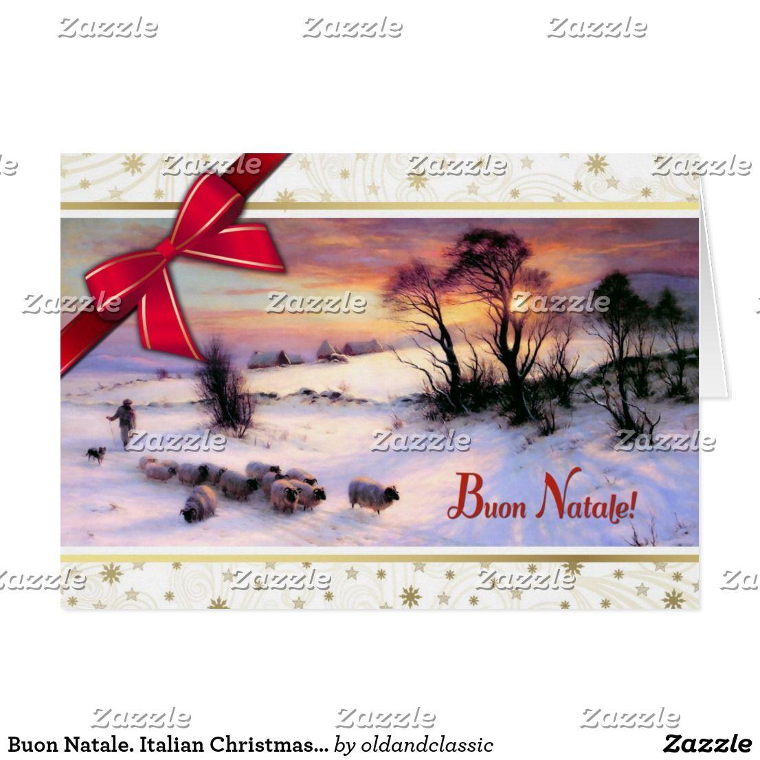 Buon natale italian christmas cards natale pinterest natale italian christmas cards kristyandbryce Images