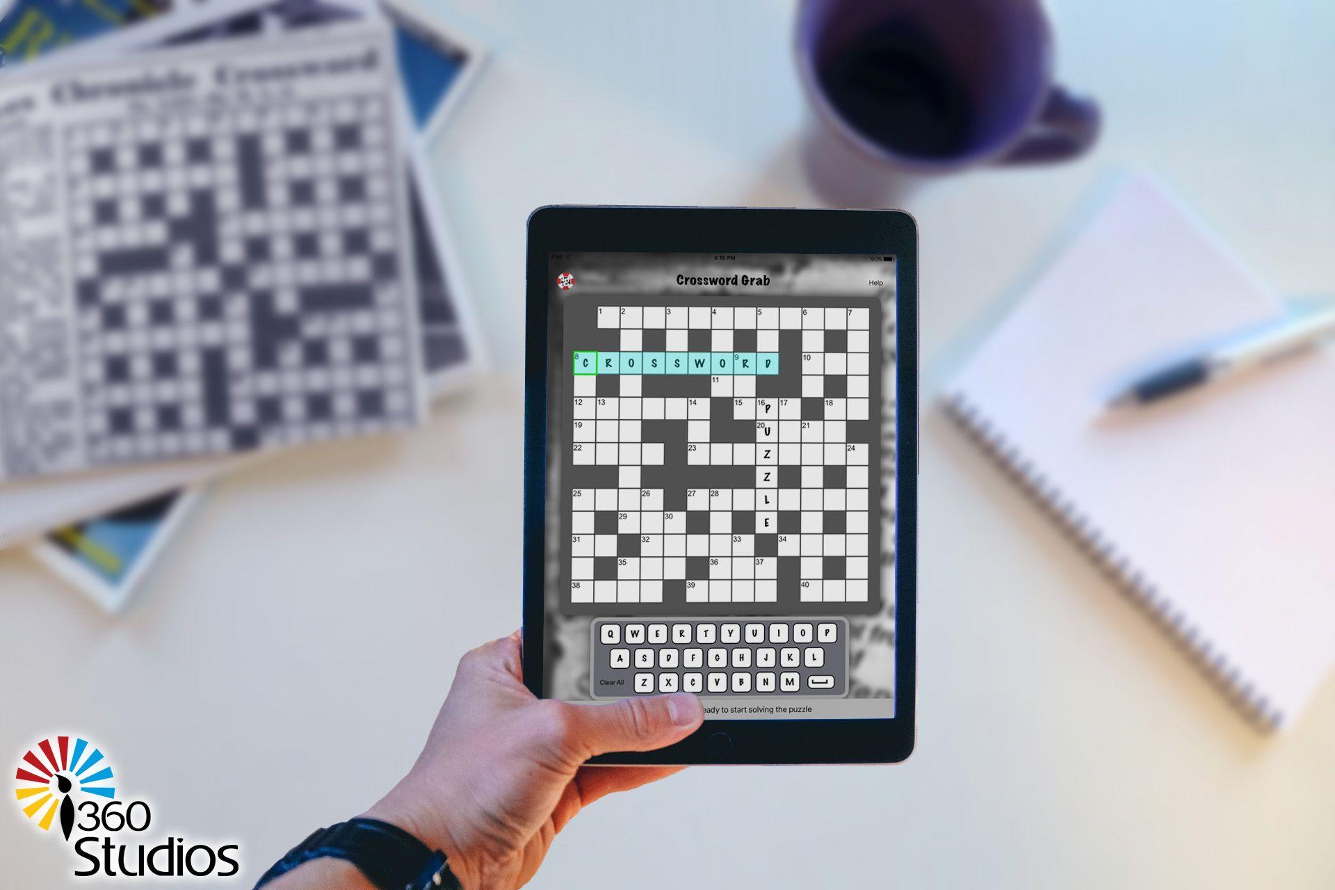Crossword Grab in 2020 App, Airplane magazine, Crossword