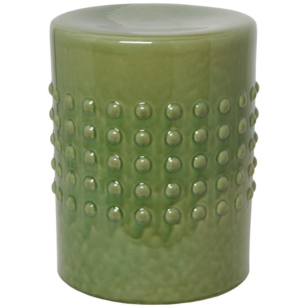 Astonishing Studded Garden Stool Green Products Ceramic Garden Pabps2019 Chair Design Images Pabps2019Com