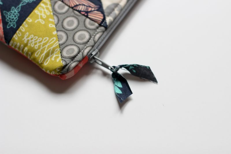 HST Zipper Pouch & Key Fob Tutorial