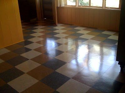 Dallas And Fort Worth Mid Century Modern Vinyl Tile Floors In