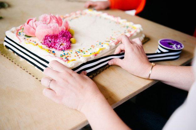 This Grocery Store Cake Hack Is Borderline Genius
