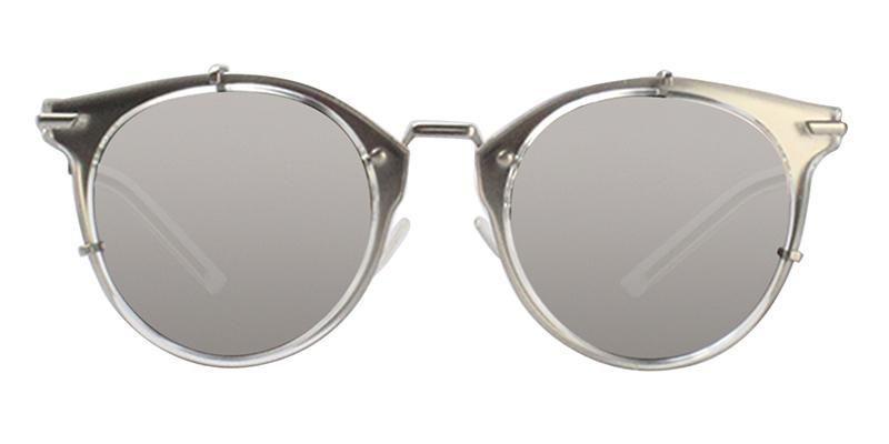 7a941dc42b Dior Homme 0196S Silver   Silver Lens Mirror Sunglasses