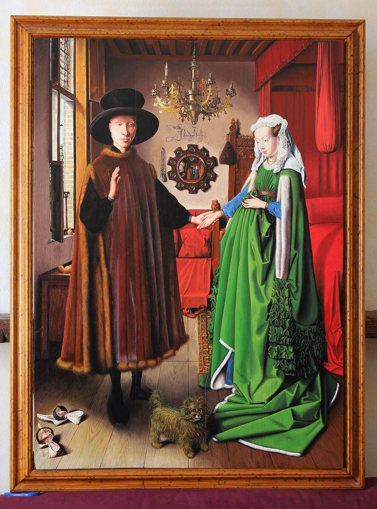 Arnolfini Portrait 1434 Jan Van Eyck
