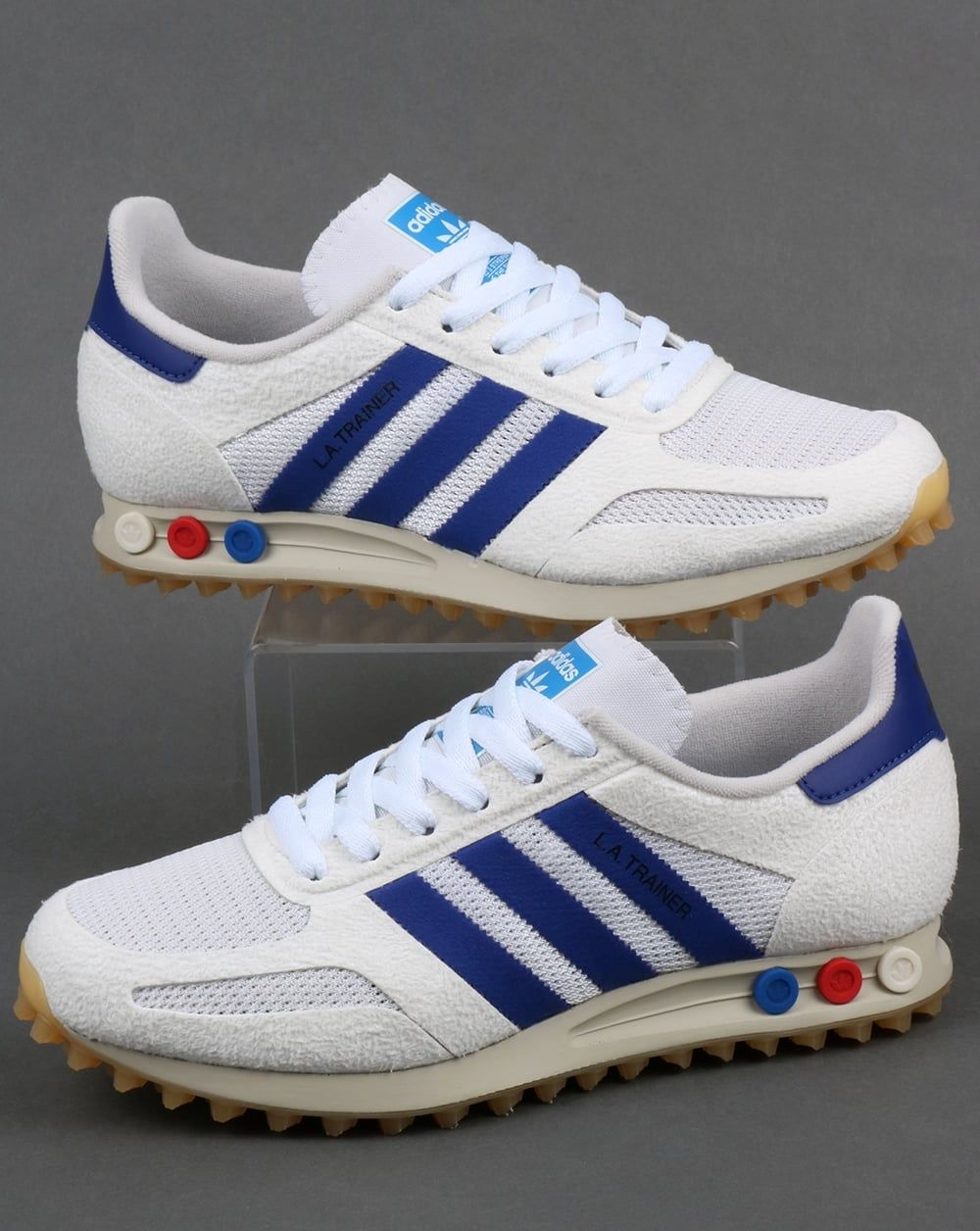 new style d4a96 93b76 Adidas La Trainer OG Vintage White Mystery Ink