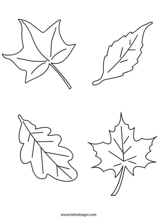 Foglie Autunnali Drawing Halloween Rocks Leaves E Crafts