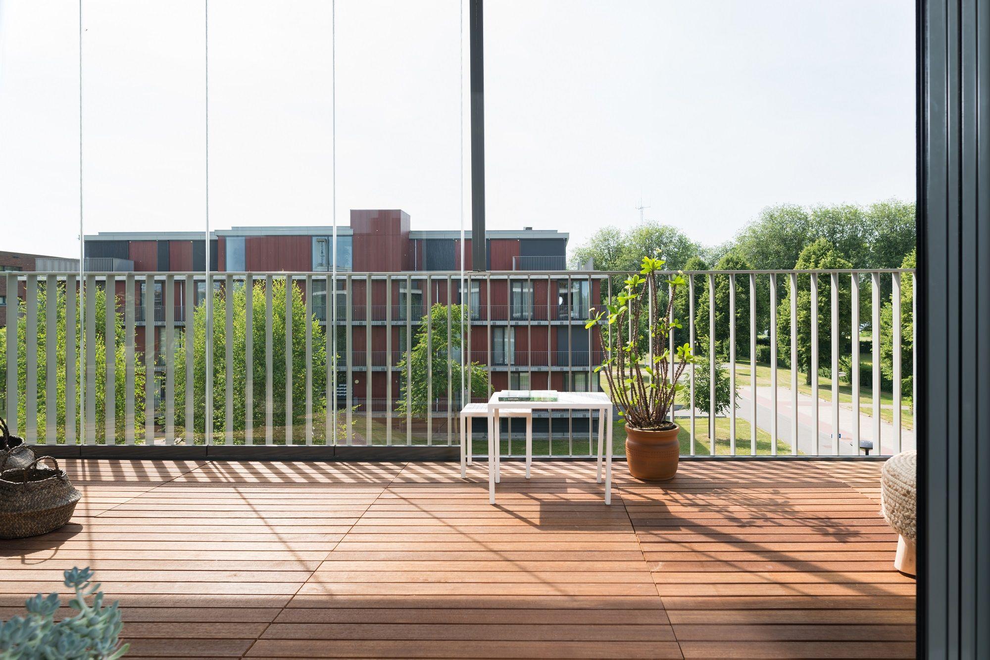 Balkonbeglazing dronten