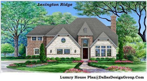 The Lexington Ridge - luxury house Plan   house floor plans ...