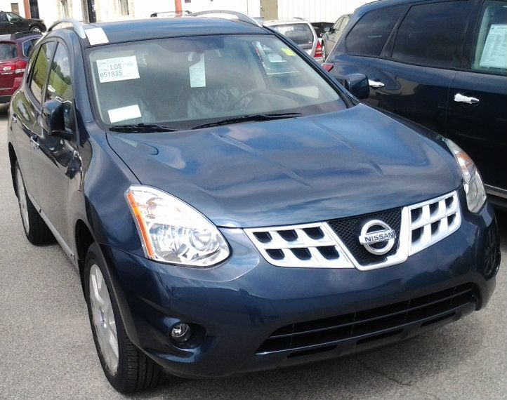 2013 Nissan Rogue In Graphite Blue Ng13043 Our Vehicles