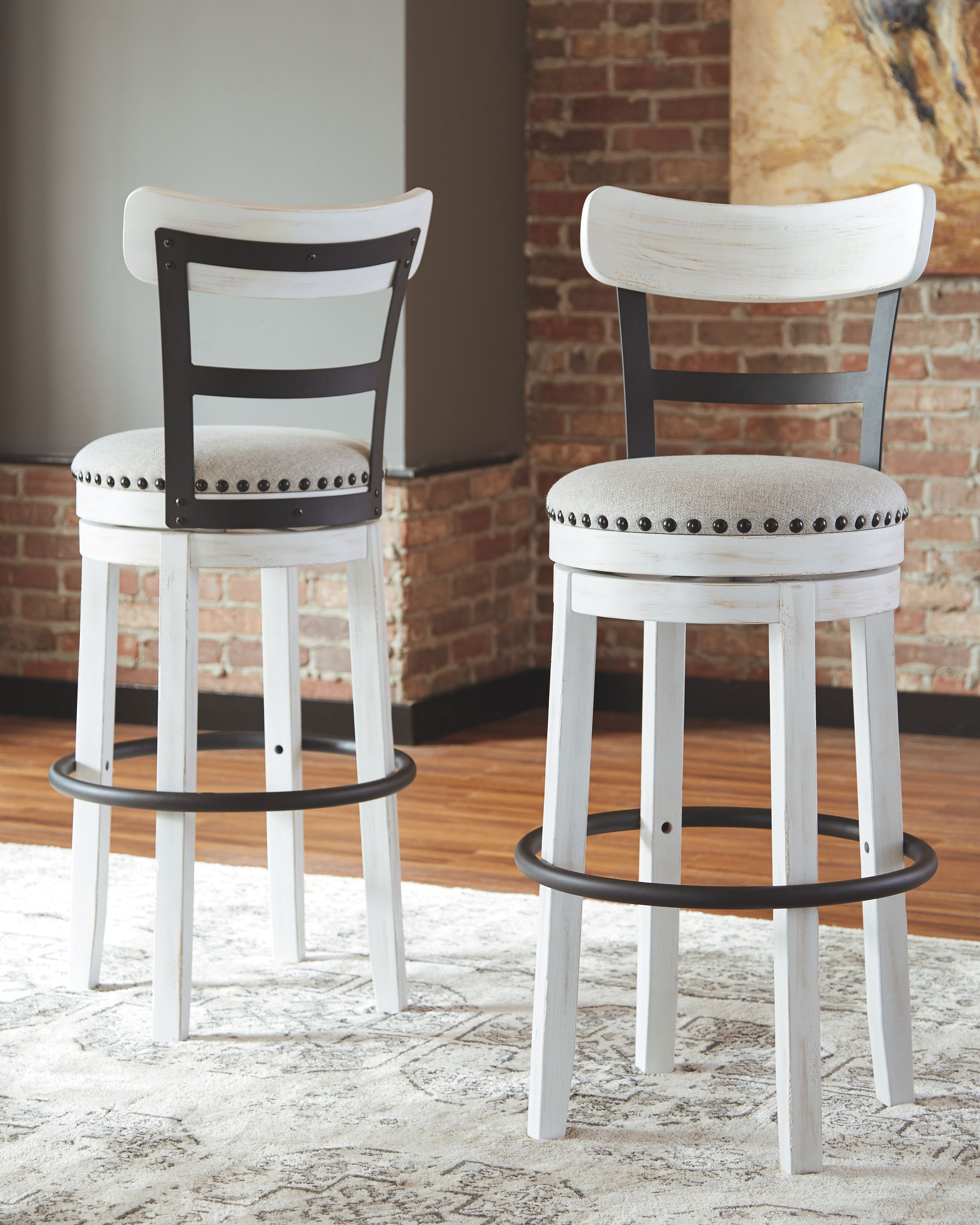 Valebeck Bar Height Bar Stool White Bar Stools Bar Furniture