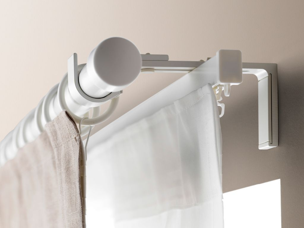 Furniture Ikea Curtain Rail System Called To Curtain Track