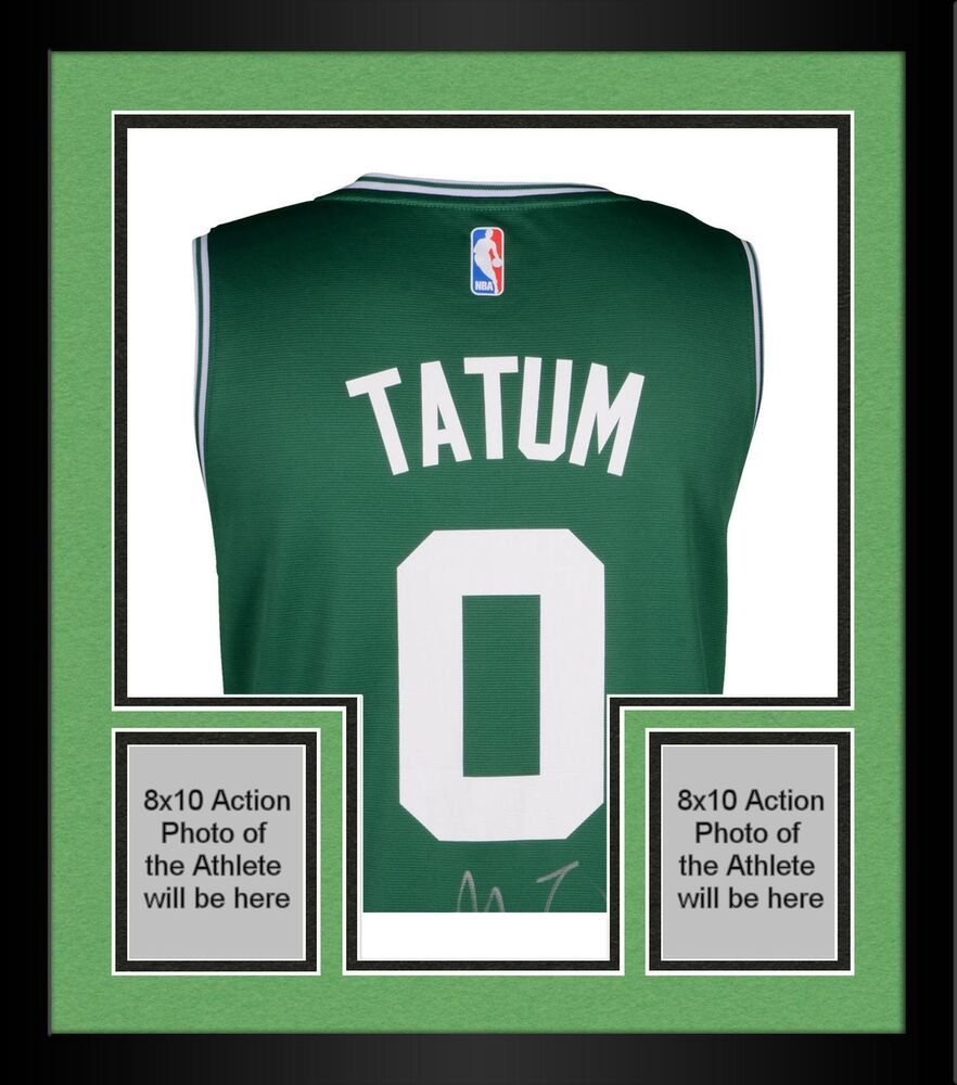 Framed Jayson Tatum Boston Celtics Autographed Fanatics Green Fastbreak  Jersey  sportsmemorabilia  autograph  basketballjersey 6d39c09d8