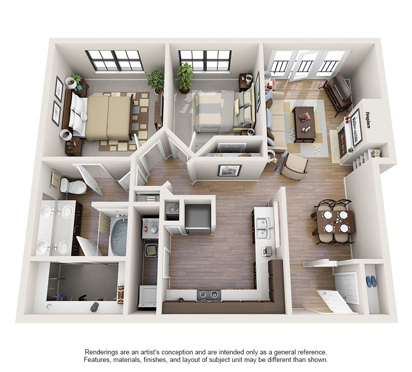 One And Two Bedroom Apartments In Oklahoma City Ok Apartment Layout Two Bedroom Apartments Apartment Inspiration