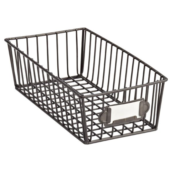Superieur Our Small Wire Basket Brings A Touch Of Urban Sophistication To Any Room.  Great To Hold Lotions In The Bath.