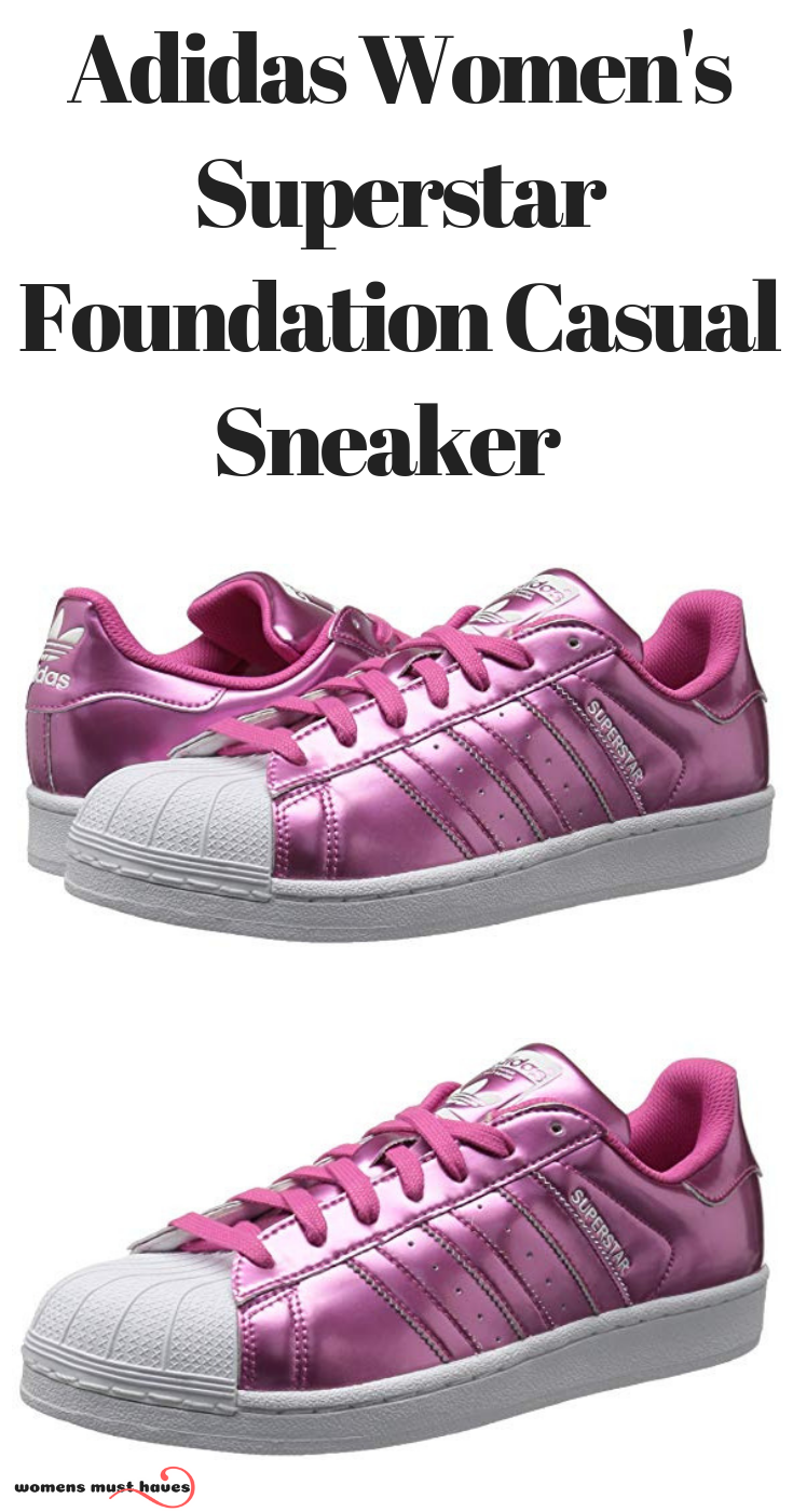 ee380bbd1dec Adidas Women s Superstar Foundation Casual Sneaker Best shoes for all  occasions our top sellers Women s Sneaker High-Heeled Fashion Canvas Shoes  High Pump ...