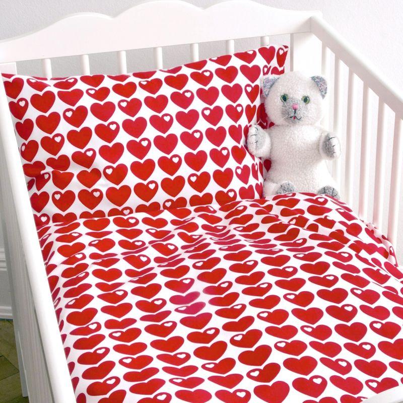 Herz Bettwäsche Rot Kultige Bettwäsche Rot Mit Herzen Hearts