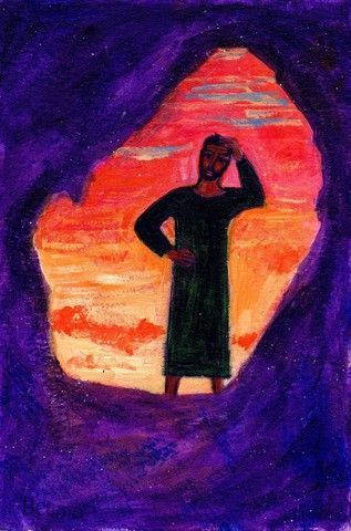 Evangile Selon St Luc Il Ne Vit Que Le Linceul Art De La Bible Art Religieux Les Arts