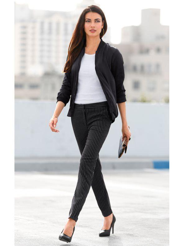 62f450038f Modelos de pantalon de vestir negro  modelos  modelosdevestir  negro   pantalon  vestir