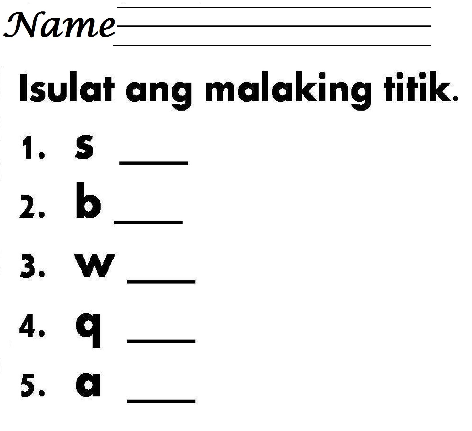 Worksheet In Filipino Grade 3 Pangngalan   Printable Worksheets and  Activities for Teachers [ 1508 x 1652 Pixel ]