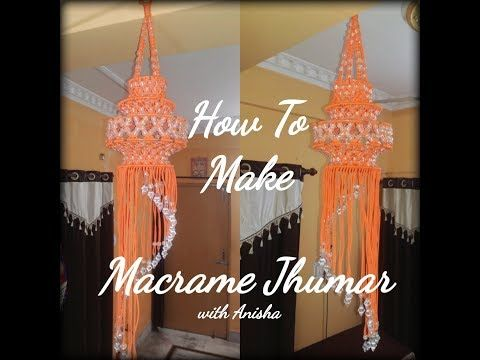 How To Make Big Macrame Jhumer Easily At Homeeasy Making