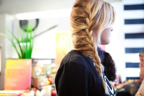 Its like the waterfall braid almost!