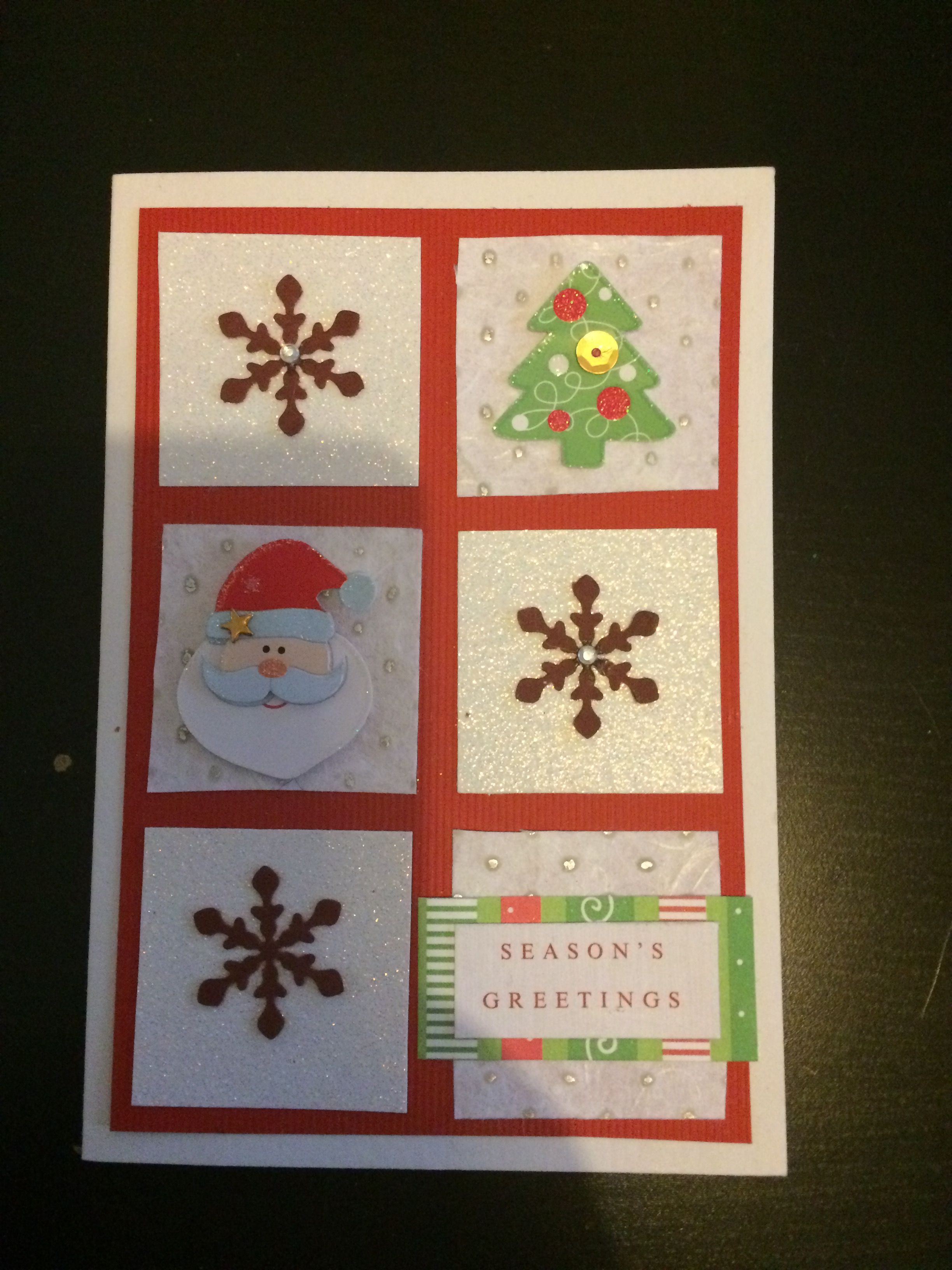 Handmade Christmas Cards.  #handmade #handmadecrafts #handmadechristmascards #artsandcrafts #crafts #christmascards