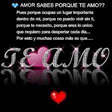 Te Amo Mi Amor Frases Pinterest Amor Frases De Amor Y Te Amo