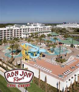 Ron Jon Resort Kids Play Area Lazy River Pool Just Off Sight From Beach