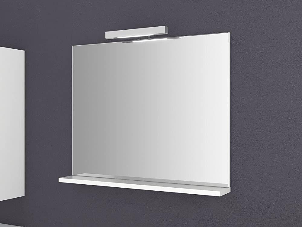 Spiegel Mit Ablage Girona 60 Und 80 Cm Breit Beleuchtung