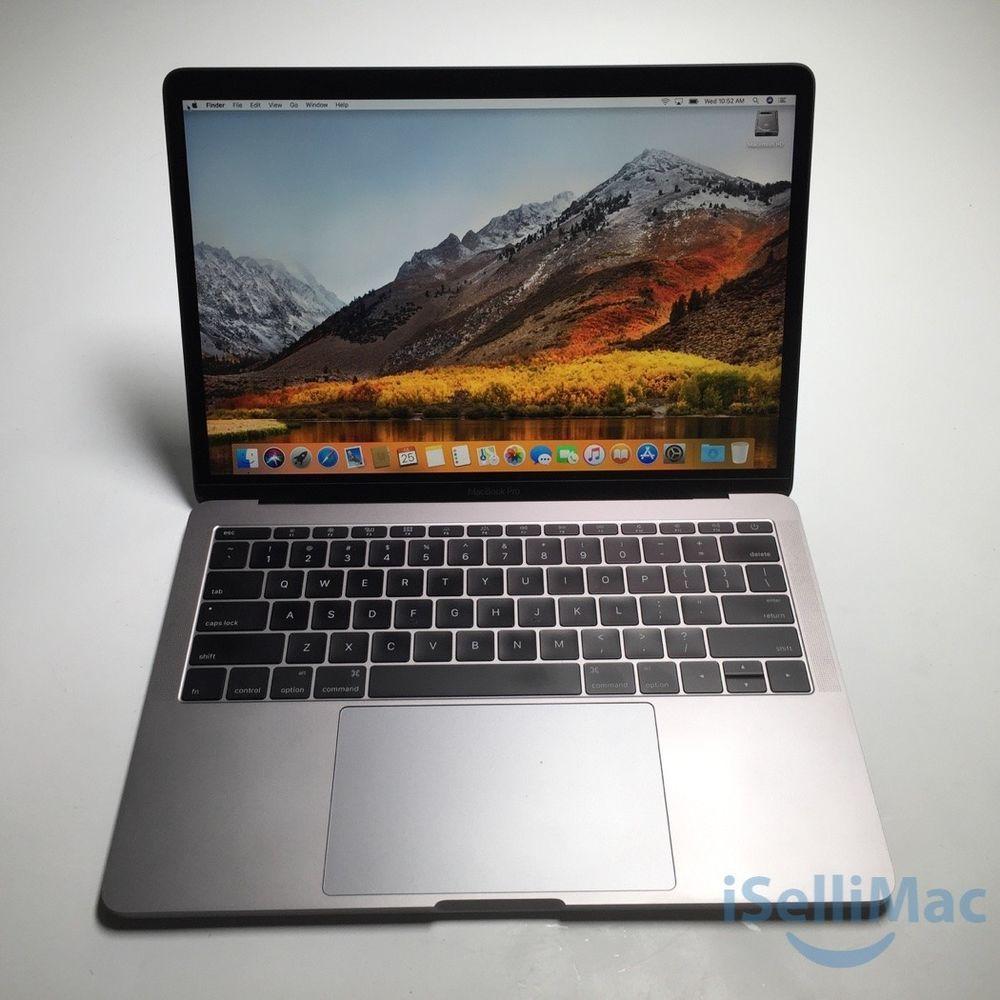 Apple 13 Macbook Pro 2017 2 3ghz 256gb Ssd 8gb A1708 Mpxt2ll A A Grade Ebay Apple Macbook Macbook Apple Laptop