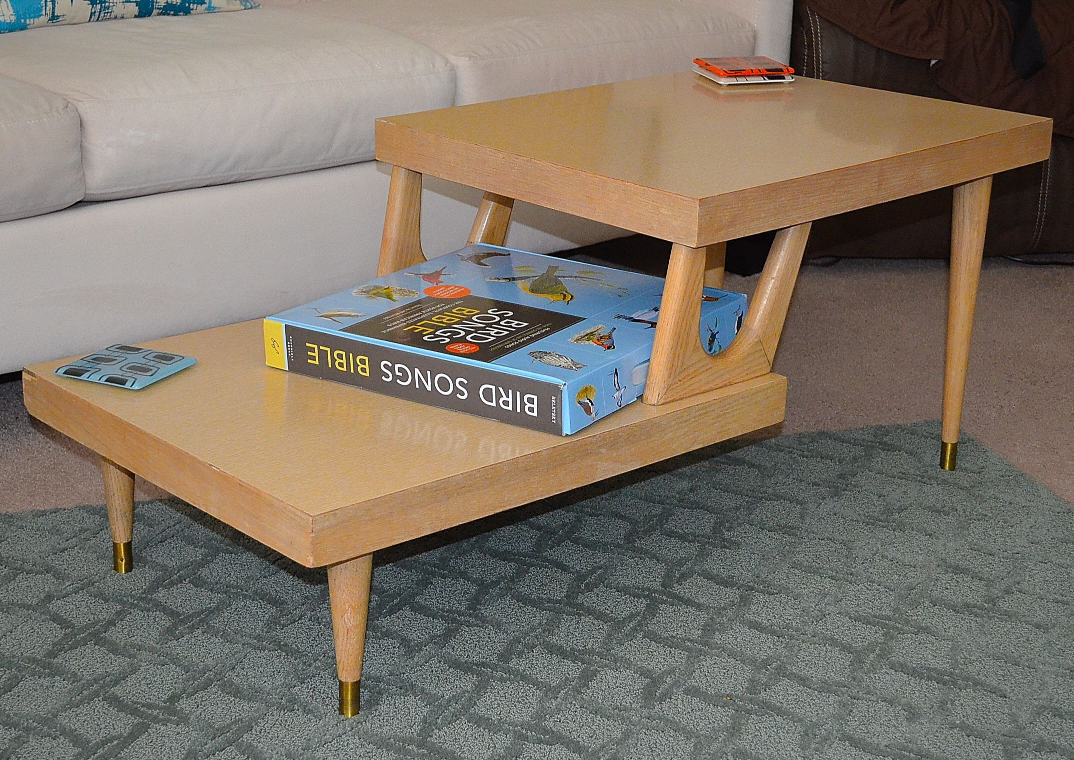 mersman 1950's blonde coffee table. this is what i picked up