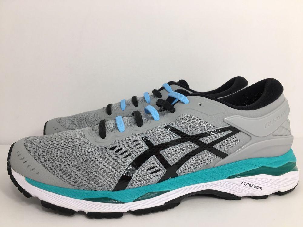 06f7b8ebb1d7 Asics Women s Gel-Kayano 24 Running Shoes Size 12 Mid Grey Black Atlantis  T799N 4549846260866