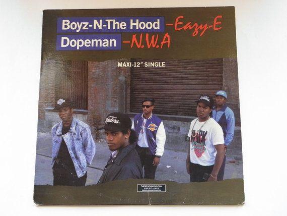 Eazy E Nwa Boyz N The Hood Dopeman 12 Inch By Rockofsages 25 00 Nwa Book Cover Books