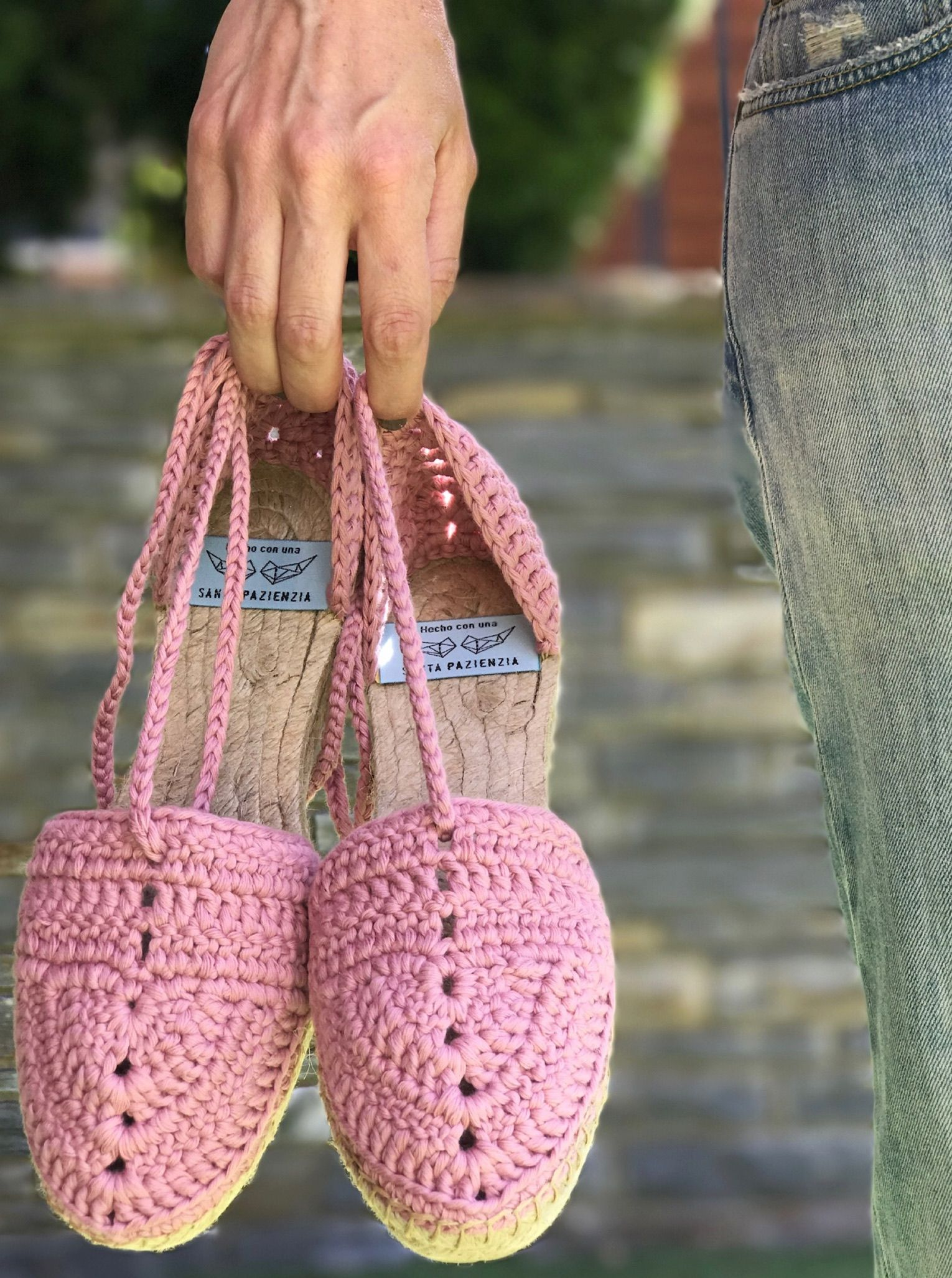 Summer Crochet by Santa Pazienzia. Alpargata Tangana, patrón en ...
