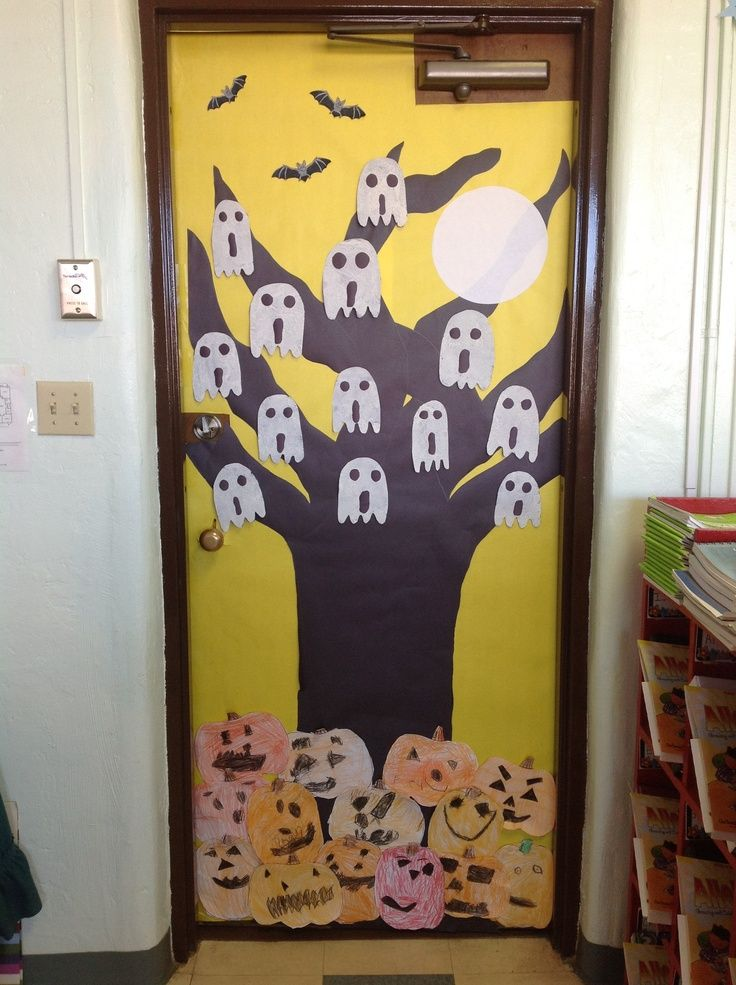 free halloween door decoration halloween Pinterest Halloween - pinterest halloween door decor