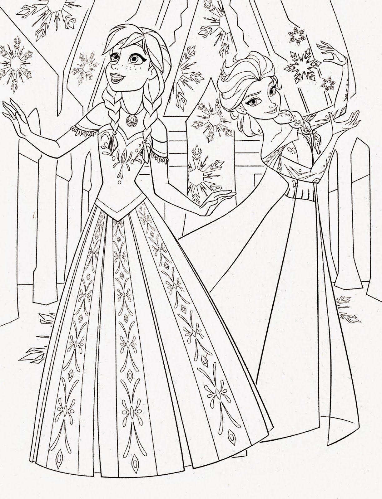 All Disney Princess Coloring Pages Coloring Pages Unique Disney All Princess Coloring In 2020 Elsa Coloring Pages Disney Princess Coloring Pages Frozen Coloring Pages [ 1600 x 1223 Pixel ]