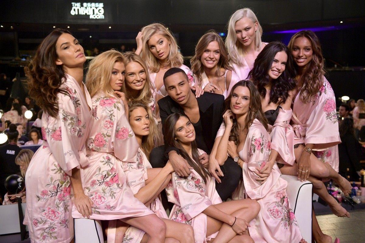 The Angels with Balmain Designer Olivier Rousteing & Karlie Kloss ...