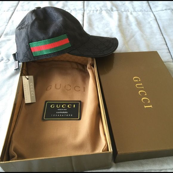 Gucci cap hat Made in Italy NWT %Authentic a8d1facd22c