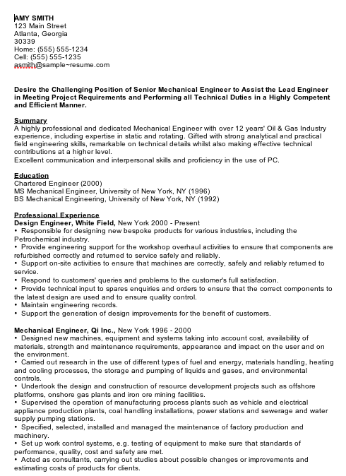 Entry Level Mechanical Engineering Resume Pinjobresume On Resume Career Termplate Free  Pinterest .