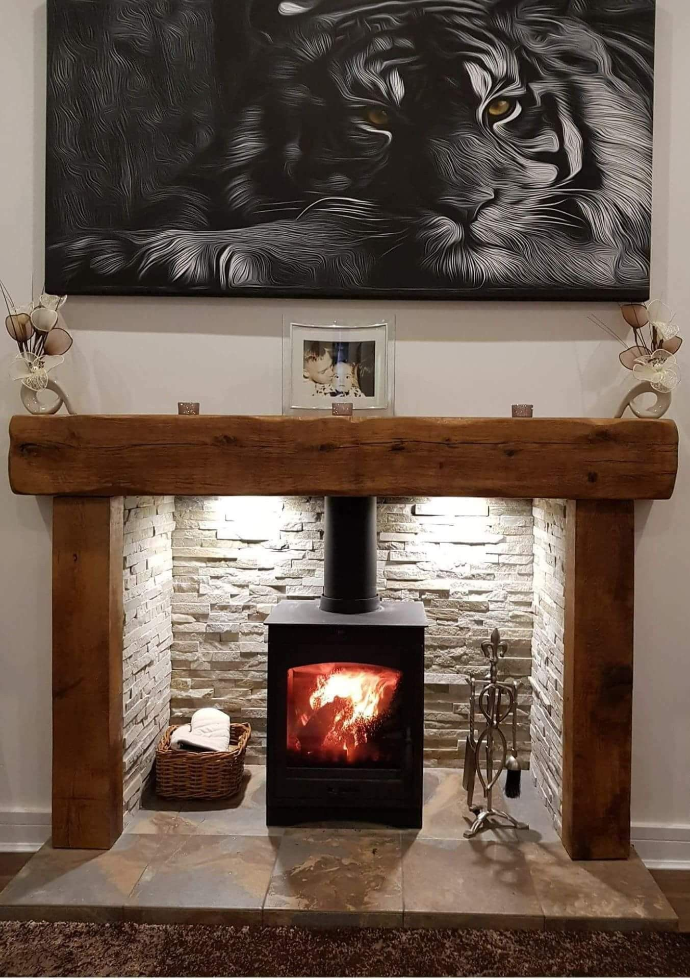 This Stove In New Dining Room Log Burner Living Room Stove