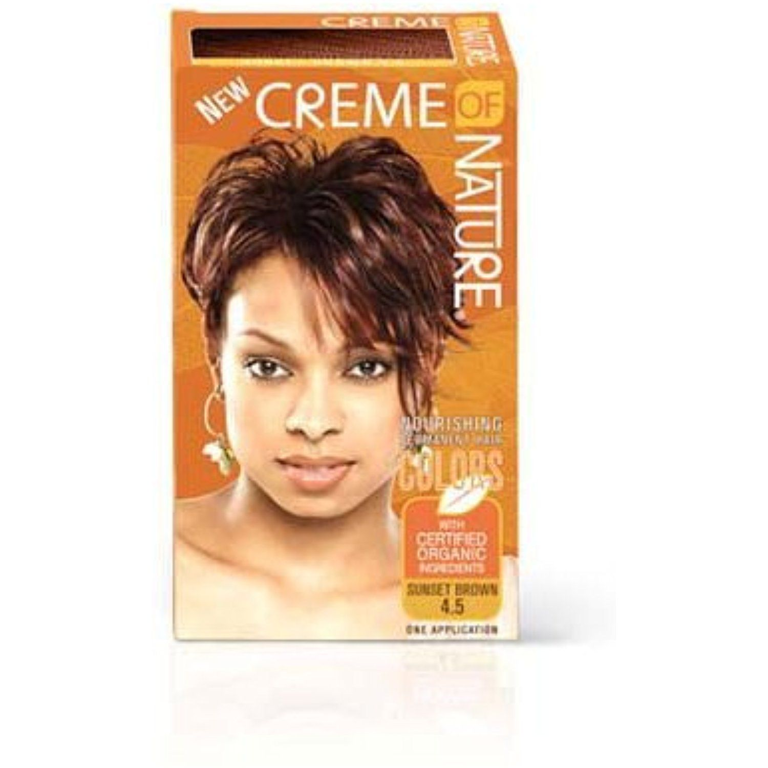 Creme Of Nature Nourishing Permanent Hair Color 45 Sunset Brown